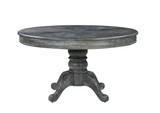 DARCY ROUND DINING TABLE-WEATHERED ASH
