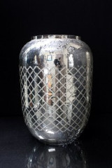 SILVER ETCHED MERCURY HURRICANE-SMALL