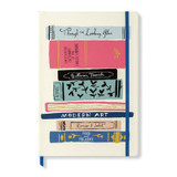 KATE SPADE NEW YORK TAKE NOTE XLARGE NOTEBOOK - STACK OF CLASSICS