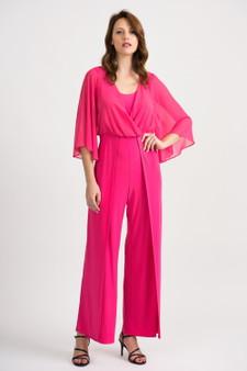 Joseph Ribkoff Jumpsuit in Hyper Pink