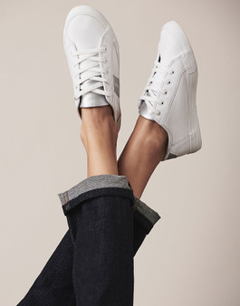 Crew Clothing Co. Leather Trainer