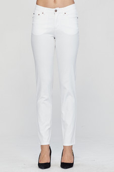 MacJays Women's California Jean - White