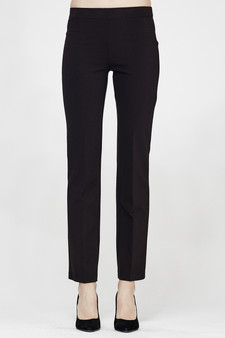 MacJays Women's Ultimate Ponti Straight Leg Pant - Front