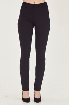 MacJays Women's Ultimate Slim Leg Pant - Navy Front