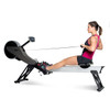 Model using Velocity Exercise Vantage Programmable Rower