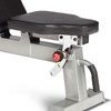 Adjustable seat of the CAP Deluxe Utility Bench