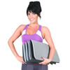 Model holding CAP Fitness Folding Exercise Mat