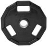25 lb CAP 12-sided Olympic Rubber Coated Grip Plate