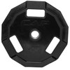45 lb CAP 12-sided Olympic Rubber Coated Grip Plate
