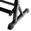 CAP Dumbbell Storage Rack, Black, 51 in close-up