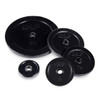 CAP Standard Rubber Coated Cast Iron Weight Plate variations