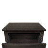 CAP Living Multipurpose Wood Night Stand, Bedside Table, End Table, Accent Table w/ Drawer and Cabinet for Living Room and Bedroom, Cappuccino