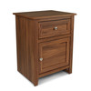 CAP Living Multipurpose Wood Night Stand, Bedside Table, End Table, Accent Table w/ Drawer and Cabinet for Living Room and Bedroom, Walnut