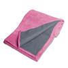 Tone Fitness Long Yoga Towel-Machine Washable Terry Cloth Yoga Mat-Pink