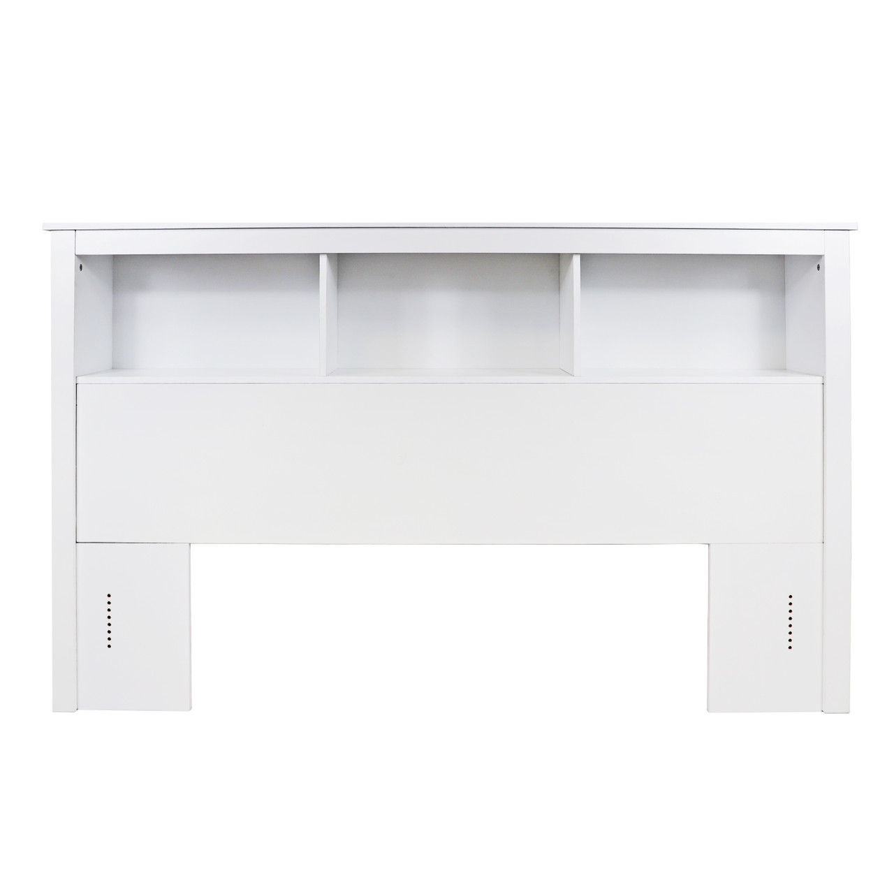 Cap Living Wood Bookcase Headboard With Storage Bedroom Bookcase Headboard Queen Size Solid White