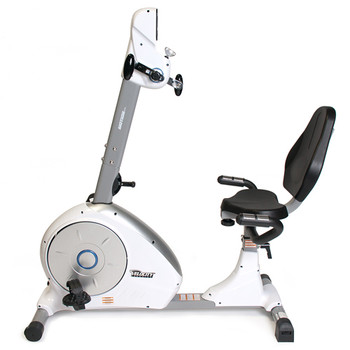 Velocity Exercise Dual Motion Recumbent Bike, Side View