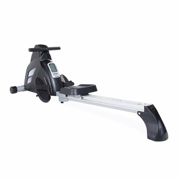 Velocity Exercise Magnetic Rower, Colors Available in Gray and Black