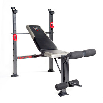 CAP Strength Standard Bench Black/red