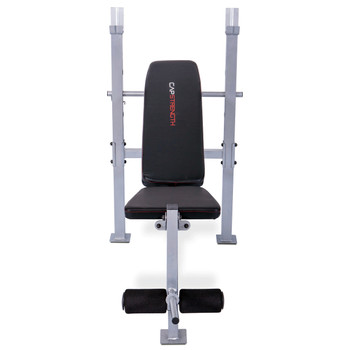 CAP Strength Standard Bench with Leg Developer, front view