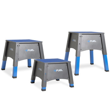 Fuel Pureformance Adjustable Plyometrics Box in 3 different heights