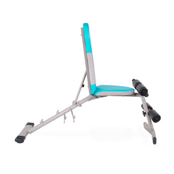 Tone Fitness FID Bench, side view