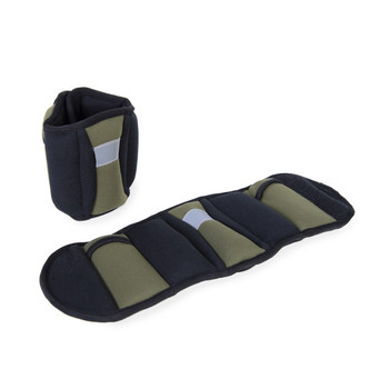 CAP Fitness Ankle Weights, olive green