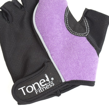 Close-up of Tone Fitness Weightlifting Gloves