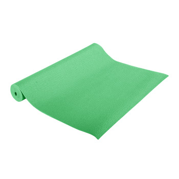 CAP Fitness Yoga Mat, Green, Rolled