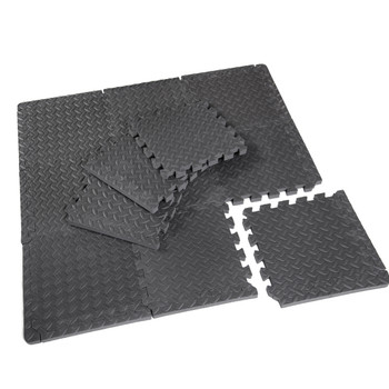 CAP Antimicrobial Foam Tile Puzzle Mat, 12 Pieces