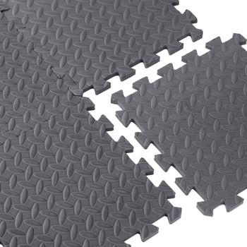 Close-up of CAP Antimicrobial Foam Tile Puzzle Mat