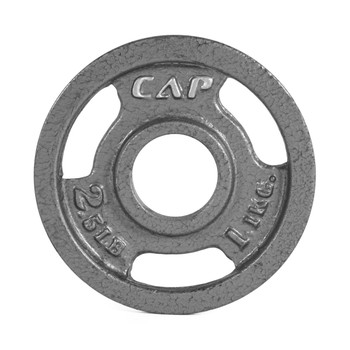 2.5 lb CAP Olympic Cast Iron Grip Plate