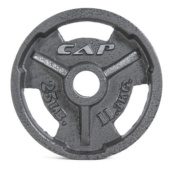 25 lb CAP Olympic Cast Iron Grip Plate