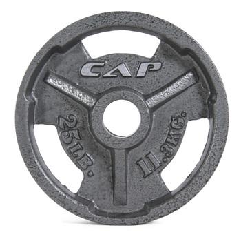 25 lb CAP Olympic Cast Iron Grip Plate