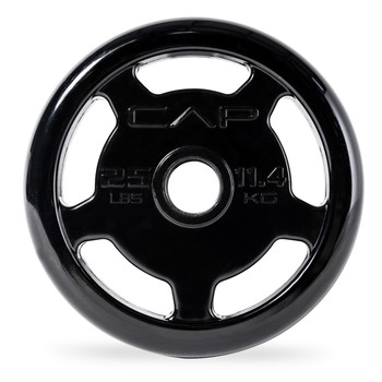 25 lb CAP Commercial Olympic Urethane Coated Grip Plate