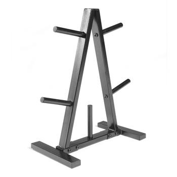 CAP A-frame Standard Plate Storage Rack, angled view