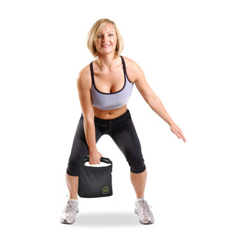 Model using CAP Nylon Soft Kettlebell