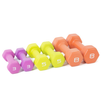 32 lb Tone Fitness Neoprene Coated Dumbbell Set