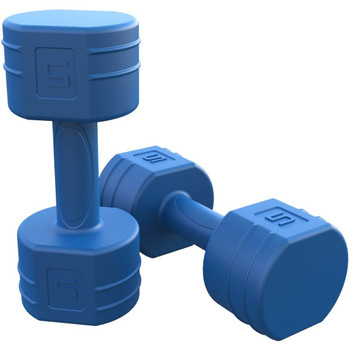Tone Fitness 10 lb Pair Cement Dumbbells