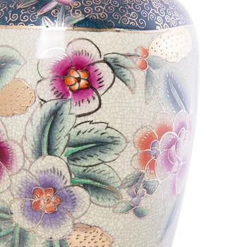 Porcelain Vase with Floral Imari Design