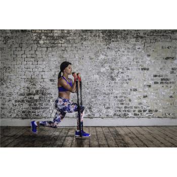 Model using adidas Power Resistance Tube