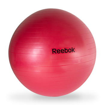 Reebok Anti-Burst Gym Ball, Red