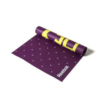 Reebok Double-Sided Yoga Mat, purple