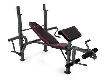 CAP Strength Standard Bench with Butterfly and Preacher Curl
