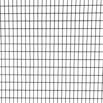 16 Gauge Black Vinyl Coated Welded Wire Mesh Size 0.5 inch by 1 inch