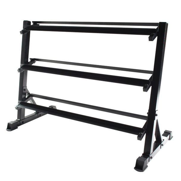 CAP Dumbbell Storage Rack, Black, 51 in