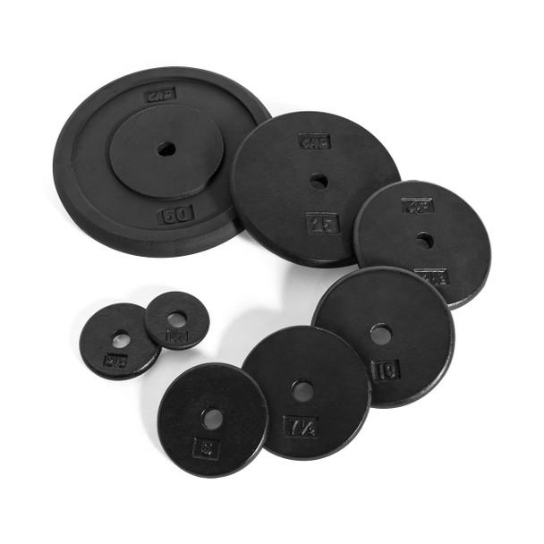 Multiple sizes of CAP Standard Cast Iron Plate, Black