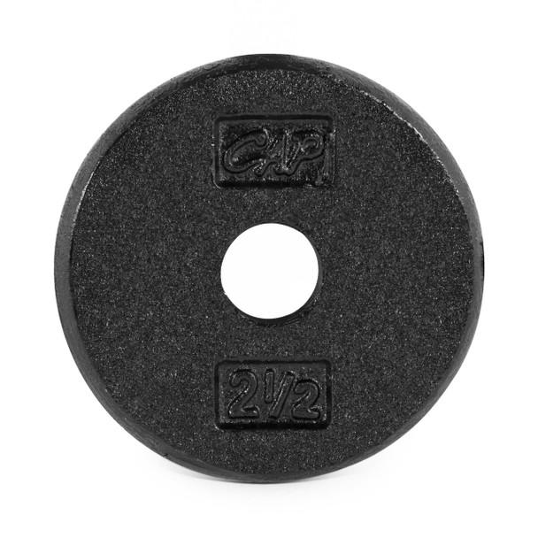 2.5 lb CAP Standard Cast Iron Plate, Black