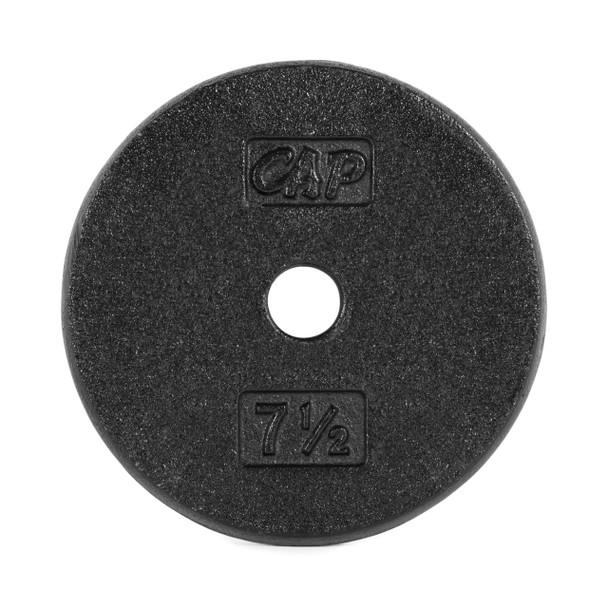 7.5 lb CAP Standard Cast Iron Plate, Black