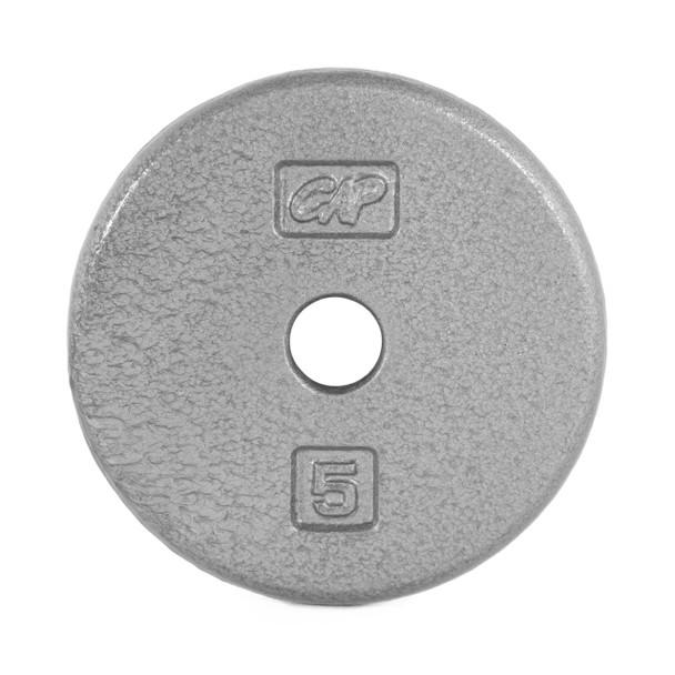 5 lb CAP Standard Cast Iron Plate