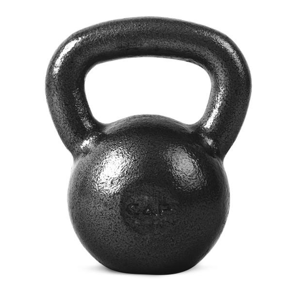 CAP Hammertone Cast Iron Kettlebell, 35 lb